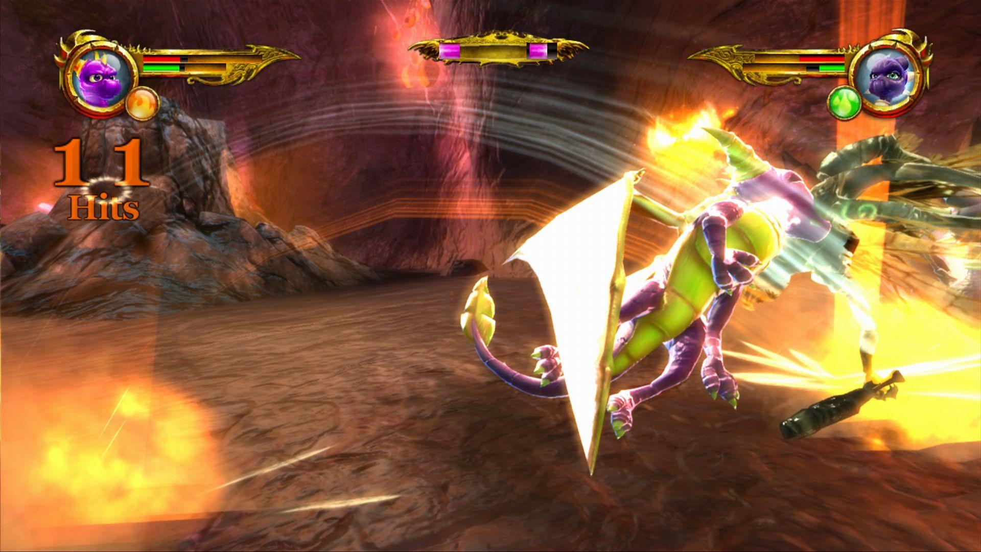 darkSpyro - The Legend of Spyro: Dawn of the Dragon