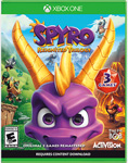 Spyro Reignited Trilogy - North America Xbox One Boxart