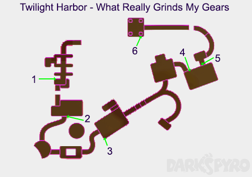 Twilight Harbor Map - What Really Grinds My Gears Map