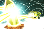 Golden Diamond Energy Beam
