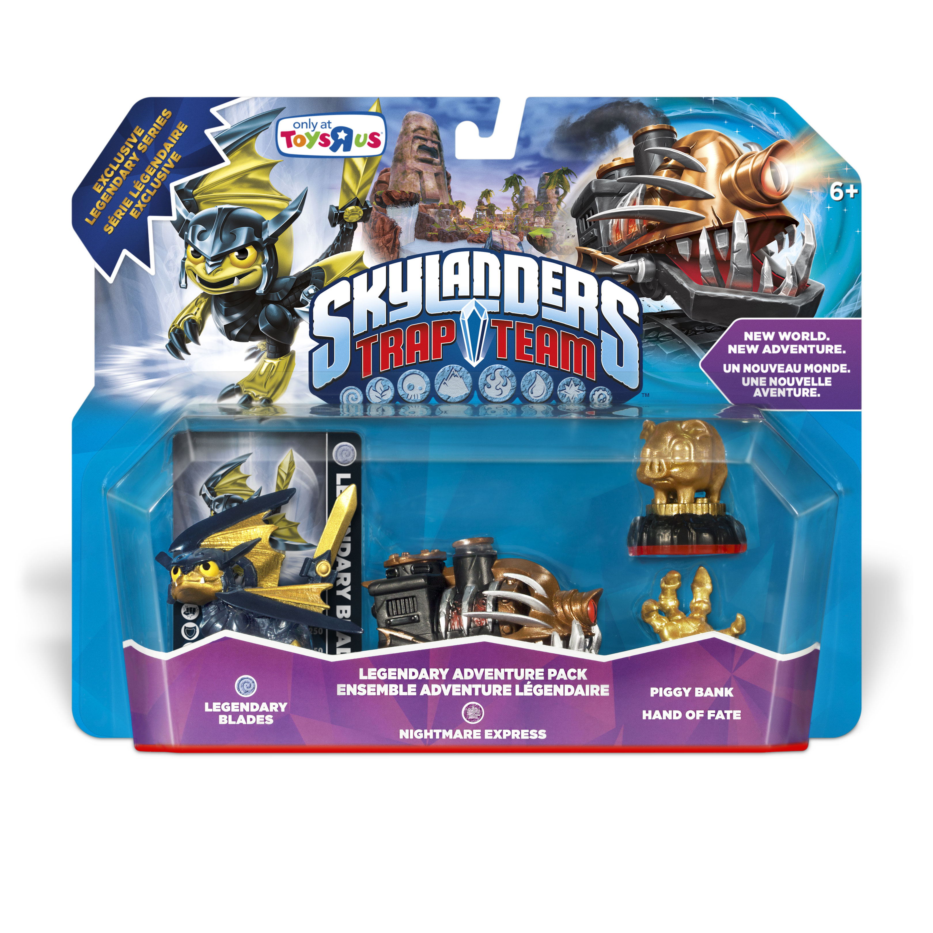 DarkSpyro   Spyro And Skylanders Forum   Skylanders: Trap Team   Legendary  Nightmare Express Adventure Pack And L Jawbreaker Figure+box