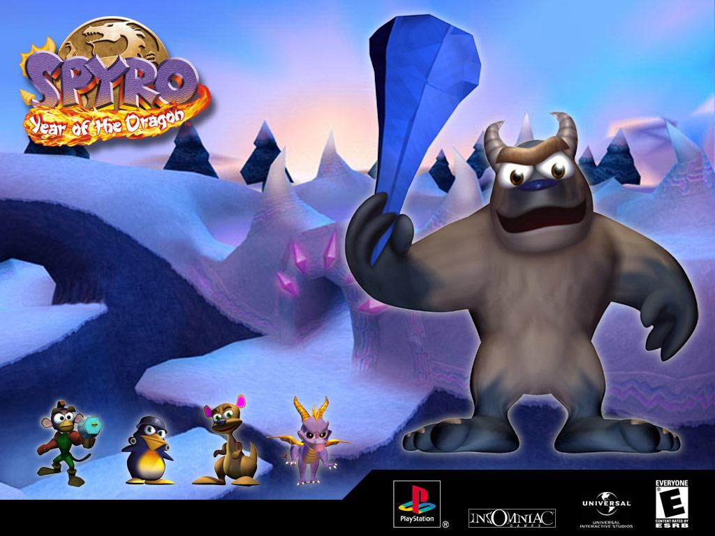Spyro flies through the Valley of Avalar in The Legend of Spyro ...