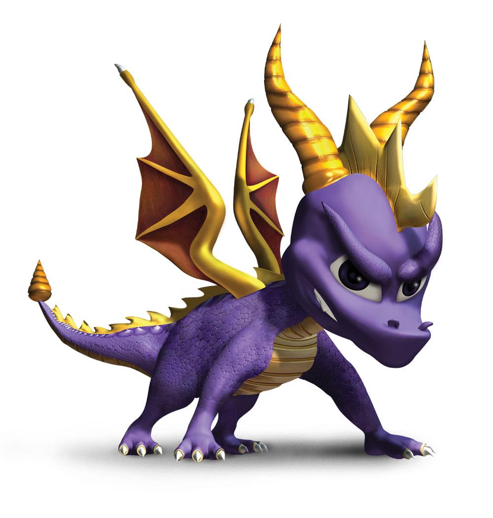 Le Saviez Vous ? / Spyro devait être vert au lieu de violet ! / N°22 dans Le Saviez Vous ? spyro_attack